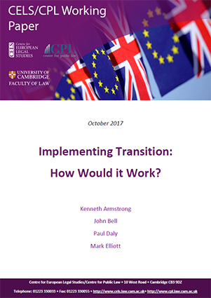 'Implementing Transition: How Would it Work?'